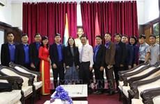 越南胡志明共青团中央委员会代表团访问印度