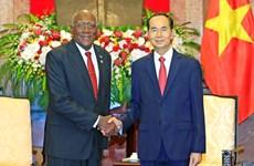 国家主席陈大光会见古巴客人