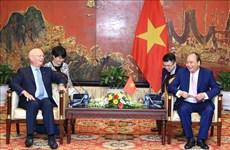 世界经济论坛创始人兼执行主席克劳斯:在越南举行的世界经济论坛东盟峰会是WEF最成功的区域性会议