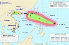 """超强台风""""山竹""""17日将直接影响越南北部沿海各省"""