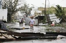 """超强台风""""山竹""""登陆菲律宾 至少三人死亡四人受伤"""
