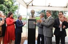 胡伯伯塑像在墨西哥瓜达拉哈拉市落成