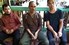 菲律宾军队拯救3名印尼人质