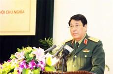 越南人民军总政治局代表团对老挝和柬埔寨进行正式访问