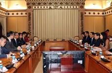 大力加强越南胡志明市与中国香港的合作