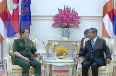 越南与柬埔寨加强防务合作