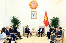 政府总理阮春福建议德国SAP集团配合试开展数字政府措施