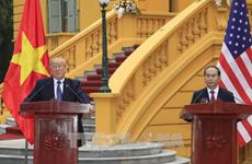 美国和埃及总统就越南国家主席陈大光逝世致唁电