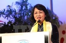 越南国家副主席邓氏玉盛圆满结束出席第二届亚欧妇女论坛之旅
