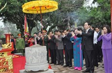 陈大光主席对故乡宁平省保有一份特殊感情
