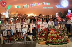 旅居捷克越南人喜迎中秋节