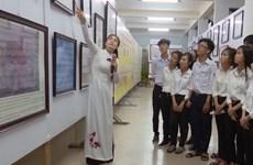 """""""越南黄沙和长沙两个群岛——历史证据和法律依据""""展览会开展"""