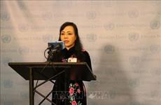 越南卫生部部长阮氏金进出席联合国结核病防治问题高级别会议