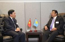第73届联大:越南政府副总理兼外长范平明与各国领导举行双边会晤