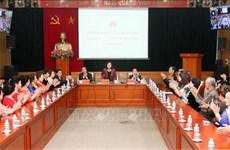 越共中央民运部部长张氏梅:旅居海外越侨是越南民族不可分割的部分