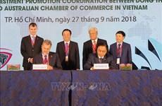 越南九龙江三角洲地区各省呼吁澳大利亚企业前来投资兴业