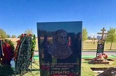 越南人民的亲切朋友——俄罗斯宇航员戈尔巴特科纪念碑正式落成