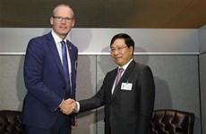 范平明副总理在第73 届联大期间与多国领导举行双边会晤