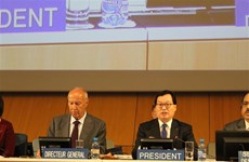 越南代表团在联合国人权理事会第39次会议上积极建言献策
