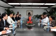 古巴领导人对越古合作关系的发展充满期待