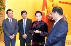 越南国会主席阮氏金银:努力建设政治过硬本领高强的驻外机构首席代表队伍