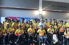 2018年第三届亚残会: 越南体育代表团已抵达印尼雅加达