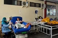 印尼地震和海啸:印尼政府为地震灾民设立临时避难所