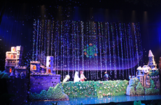 越南有关气候变化题材的木偶剧将在2018年国际木偶戏节上演