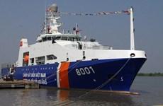 越南与印度海岸警卫队首次举行联合演习