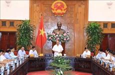 越南政府总理阮春福同宁顺省领导举行工作会议
