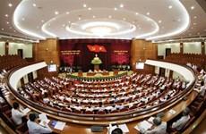 越共十二届八中全会新闻公报(第四天)