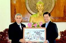 进一步加强越南芹苴市企业与印尼的投资合作