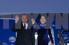 阮春福抵达日本首都东京 开始出席第十届日本与湄公河流域国家峰会之行