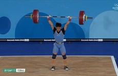 2018年青年奥林匹克运动会第一天越南选手摘得一金一银