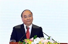 日本媒体刊登越南政府阮春福接受记者采访的文章