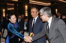 越南国会主席阮氏金银出席土耳其越南经营投资论坛