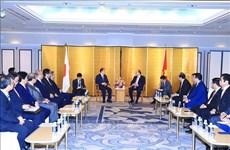 越南政府总理阮春福会见日越友好议员联盟主席