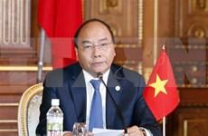 阮春福总理出席第10届日本与湄公河流域国家峰会新闻发布会