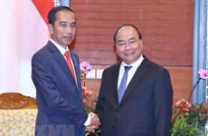 阮春福总理出访印尼之行: 越南重视对东盟关系和越南印尼战略伙伴关系