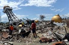 印尼地震和海啸:中苏拉威西省灾后重建工作大力展开
