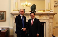 范平明与英国领导会晤 出席越英企业论坛