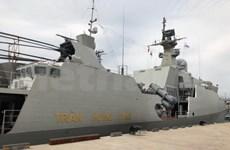 越南参加在韩国举行的国际舰队检阅活动