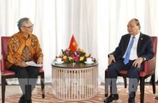 越南政府总理阮春福会见印尼芝布特拉Ciputra集团总裁