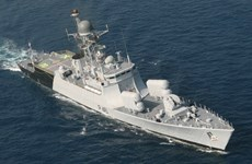 印度与印尼海军开展海上联合巡逻