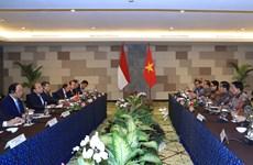 越南政府总理阮春福与印尼总统举行会谈