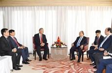 越南政府总理阮春福会见印尼日光证券公司总裁