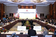 第六届东盟-中国质检部长会议在河内举行