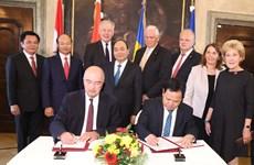 越南政府总理阮春福访问克雷姆斯应用科技大学  结束对奥地利的正式访问