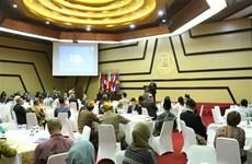 鼓励社会组织参与东盟共同体建设