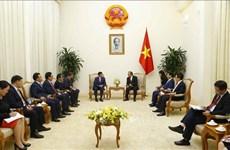 张和平会见蒙古国法律和内务部长尼亚木道尔吉